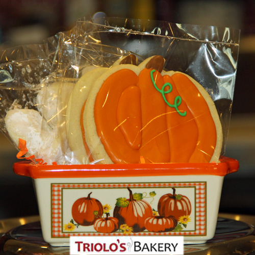 Fall Cookies - Gift from Triolo's Bakery