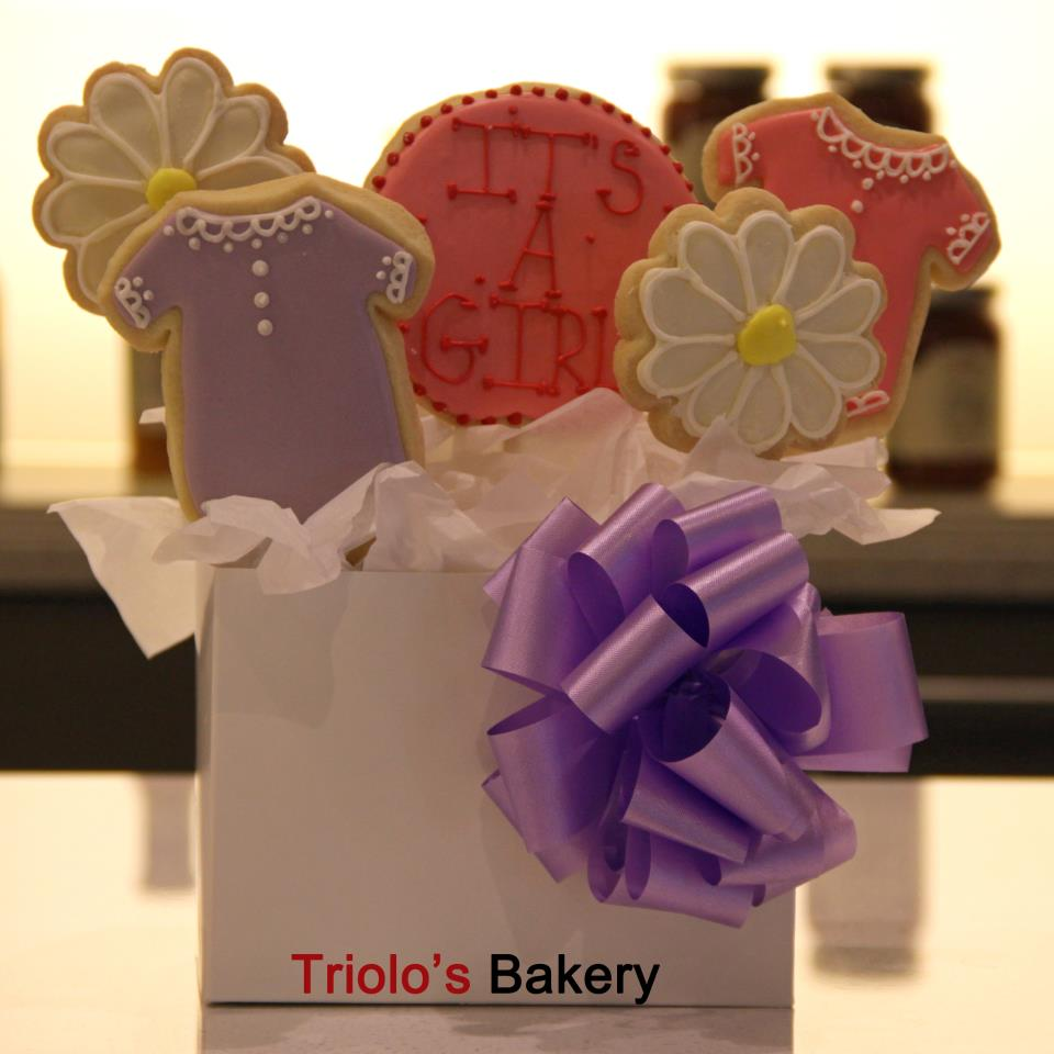 Baby Shower Gift Basket - Gift Baskets from Triolo's Bakery