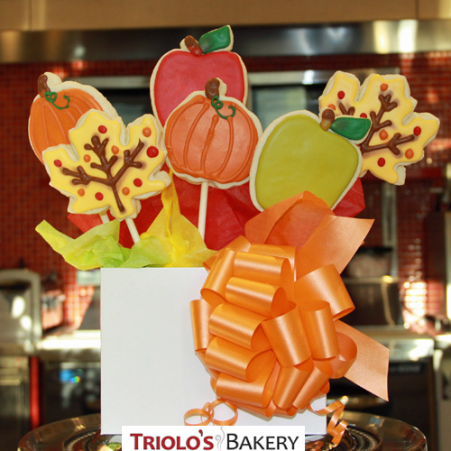 Fall Cookie Gift Basket - Gift Baskets from Triolo's Bakery