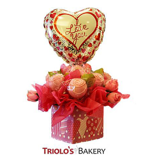 Valentine Gift Set - Gift Baskets from Triolo's Bakery