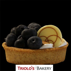 Plated Pastries from  Triolo's Bakery