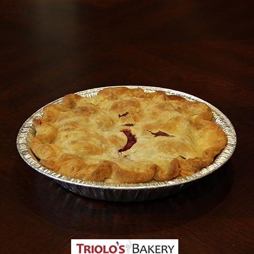 Peach Raspberry Pie - Pies - Triolo's Bakery
