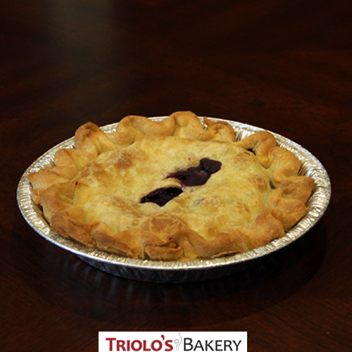 Wild Blueberry Pie - Pies - Triolo's Bakery