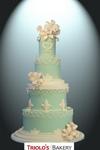 Victorian String Wedding Cake - Triolo's Bakery